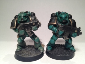Sons of Horus test paint scheme