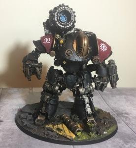 Dark Mechanicum Cyclothrathe Thanatar