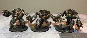 Ghar Empire Assault Battlesuits
